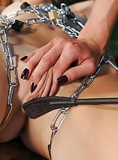 Mistress Puts A Crop To Sub