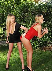 Mistress Gives Sexy Sub A Paddling