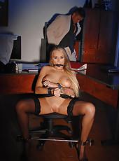 Boss Gives Secretary A BDSM Lesson