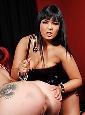 Mistress Punishes Slavegirl