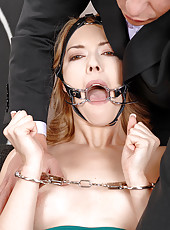 Kandall Gets Handcuffed & Bridled