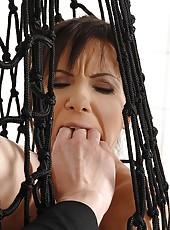 Slave Girl Alysa Whipped & Gaped