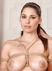 Zafira Tied Up In Intricate Knots