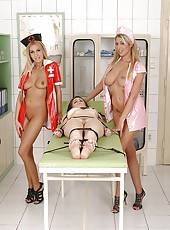 Perverted Nurses Probing Patient