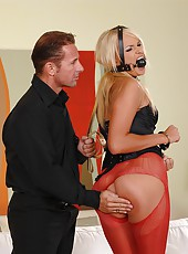 A mad flurry of spankings for Ivana