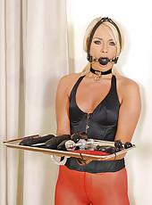 Slave girl Ivana Sugar is mastered!