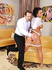 Sexy Kassey Krystal spanked hard