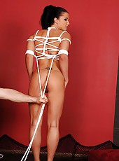 Bound Kassey Krystal shows it all