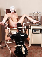 Nasty nurse Sandy & bound Janette