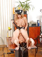 Dorothy & Lauryn having bondage sex
