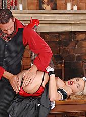 Britney Spring gets spanked hard