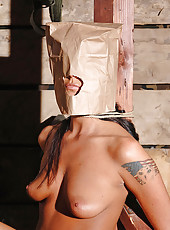 Kinky Simony gets bound and fucked