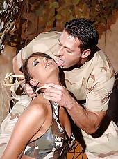 Hot Simony gets bound and spanked