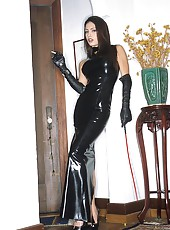 Steaming Jessica Jaymes in Latex