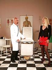 Milf in Skirt