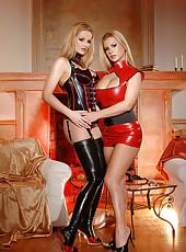 Sexy Dorothy Black and Sandra Shine