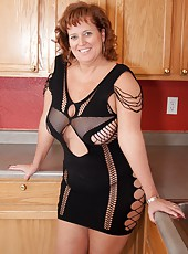 Dawn Marie In Her Ripped Up Dress Barely Covered