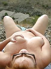 Dawn Marie Nude In Her Neighborhood