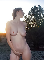 Naked In The Meadow