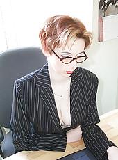 Junior Executive In Pantyhose