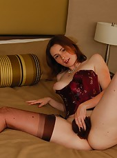 Stuffing My Stockings In My Pussy