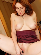 Passionate Plaything Stuffs Her Pussy