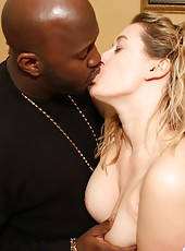 Faith Goes Interracial with BBC