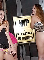 5 hot young club teens pounded hard in these real group sex club orgy parties